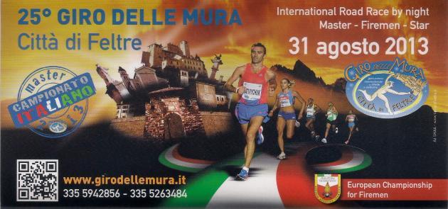 13º Campeonato Europeo de Carrera Pedestre en Italia