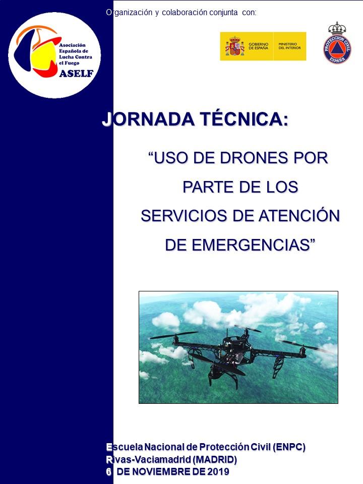 JORNADA DRONES EN LOS SERVICIOS DE ATENCIÓN DE EMERGENCIAS