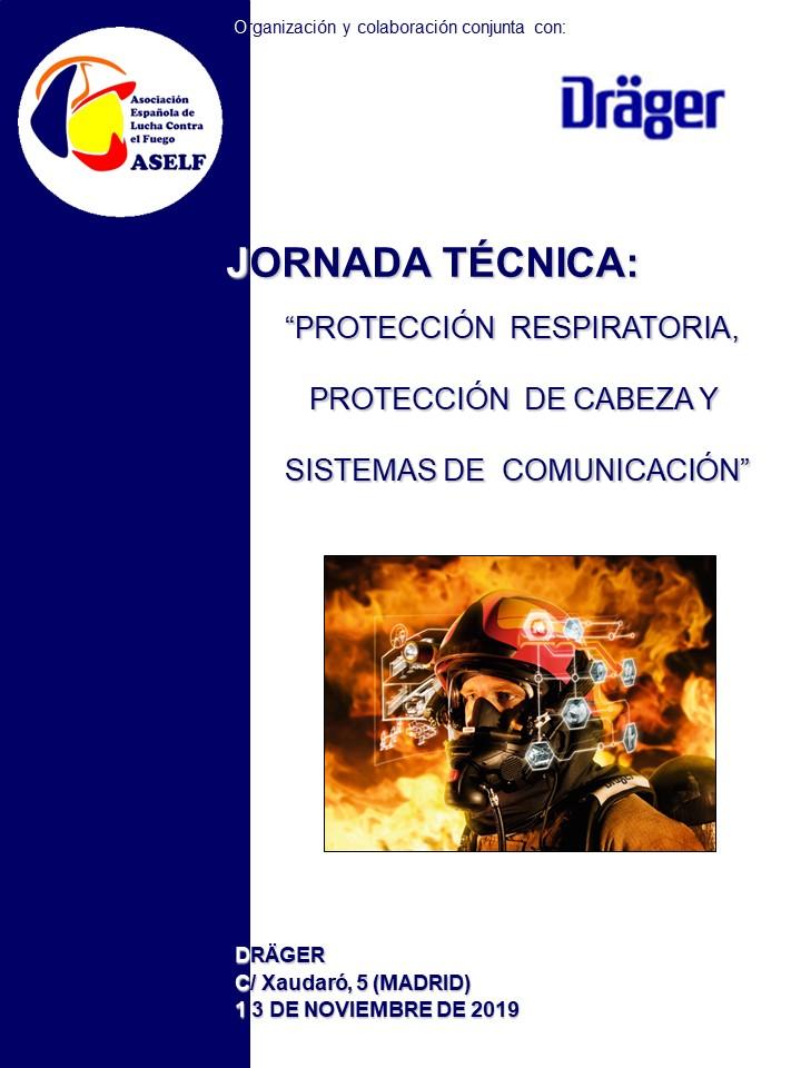 JORNADA PROTECCIÓN RESPIRATORIA, PROTECCIÓN CABEZA Y COMUNICACIONES