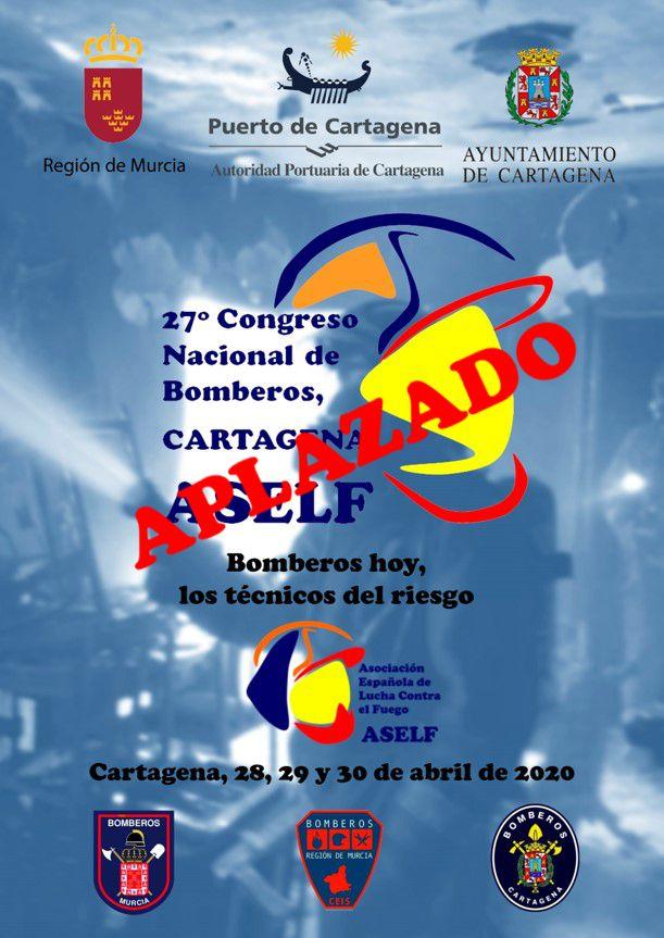 27 CONGRESO NACIONAL DE BOMBEROS CARTAGENA. ASELF